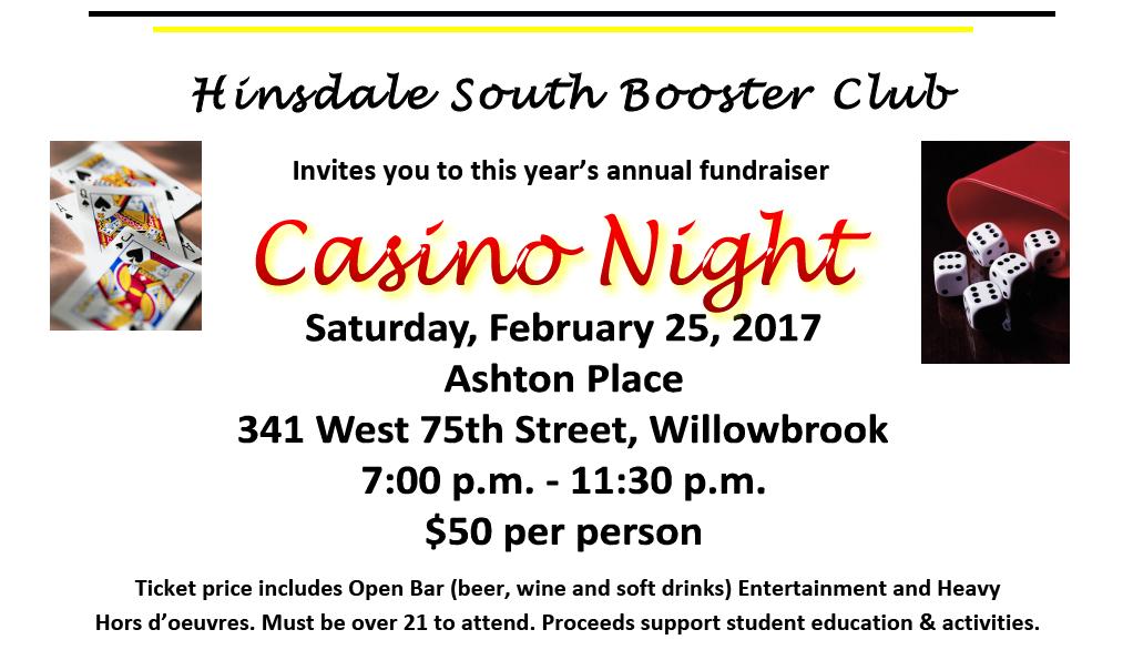 Hinsdale south casino night